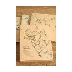 Quaderno Flora Ginkgo