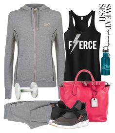"""""""Gym Style"""" by pretty-zyha on Polyvore featuring EA7 Emporio Armani, Reed Krakoff, adidas and sweatsesh"""