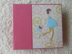 Pregnancy Scrapbook by SimplyMemories on Etsy. 6x6 inch premade scrapbook