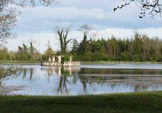 The Lake Temple at Larchill Arcadian Garden, Ireland.