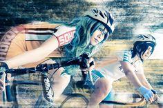 Makishima and Manami (AMPLE - Fwmiao腐喵子) | 弱虫ペダル Yowamushi Pedal #cosplay #anime