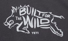 Hand Drawn Logo, Wild Boar, Stencils, How To Draw Hands, Shirt Designs, Lettering, Words, Drawings, Illustration