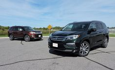 The 2016 Honda Pilot gains more comfort and better refinement. The 2016 Ford Explorer offers new style and a more luxury trim package. What's better?