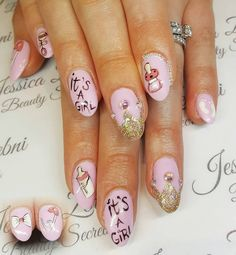 Gender reveal nail art is now a thing | Stylist Magazine