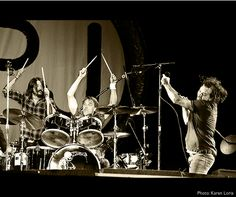 Pearl Jam with Dave Grohl