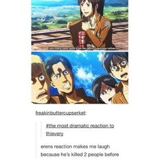 Oh. My. Gosh. || Attack on Titan || Shingeki no Kyojin || Eren Yeager || Sasha Braus || Armin Arlert || Thomas Wagner || attack on titan funny || AOT || SNK || anime