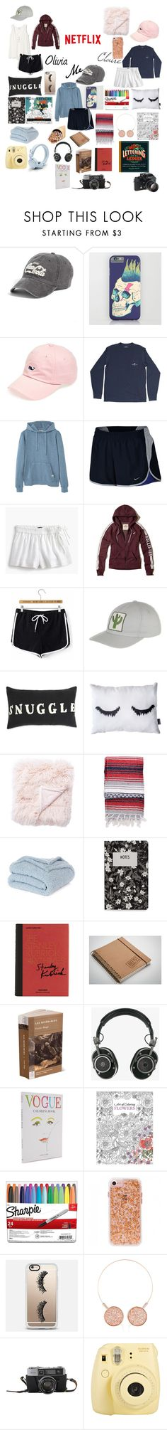 """""""Vacation!"""" by avengersfreak ❤ liked on Polyvore featuring American Needle, Vineyard Vines, MANGO MAN, NIKE, J.Crew, Hollister Co., Mollusk, Jaipur, Nordstrom Rack and Design Letters"""