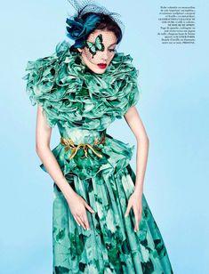 Kati Nescher   Inez & Vinoodh   Vogue Paris November 2012   'HauteCouture' - 3 Sensual Fashion Editorials   Art Exhibits - Anne of Carversville Women's News