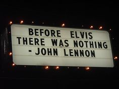 John Lennon Elvis #quote