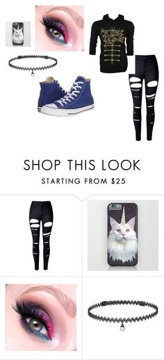 """""""autumn-geist"""" by ghostgirl820 ❤ liked on Polyvore featuring beauty, WithChic, BERRICLE and Converse"""