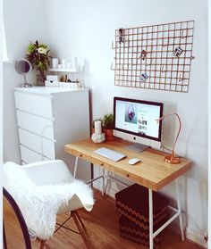 This is my office space #desk #office
