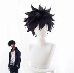 My Hero Academia Dabi Anime Cosplay Wig Costume Prop Short Black Hair + Wig Cap Cosplay Anime, Deku Cosplay, Cosplay Hair, Cosplay Outfits, Cosplay Wigs, Black Cosplay Wig, Short Black Hair Wig, Short Black Hairstyles, Short Hair Wigs