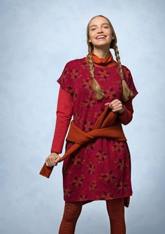 """""""Rimfrost"""" tunic in lyocell/spandex – Bathroom – GUDRUN SJÖDÉN – Webshop, mail order and boutiques 