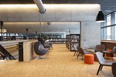 Hamar Public Library, designed by Metropolis arkitektur & design. Conference Room, Public, Table, Furniture, Design, Home Decor, Decoration Home, Room Decor