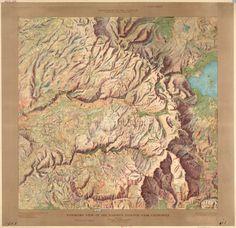 MapCarte 259/365: Yosemite Valley by John H, Renshawe, USGS, 1914