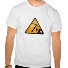 Bitcoin Mining T-Shirt Bitcoin Mining Rigs, Shirt Designs, Mens Tops, T Shirt, Stuff To Buy, Clothes, Style, Fashion, Supreme T Shirt