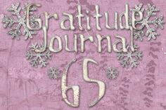 Gratitude Challenge Revisited Day 65 - News - Bubblews