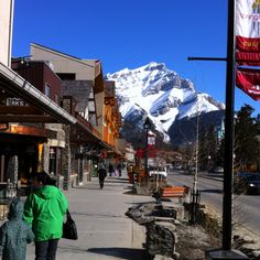 Banff...great little party town!