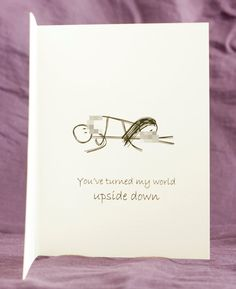 NEW! Funny Mature Adult Dirty Naughty Cute Love Greeting Card for birthday, valentines, anniversary - upside down