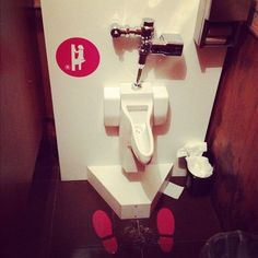 Urinoir pour femmes