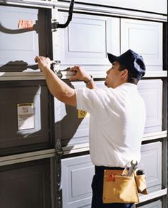 installation and repair of all model garage doors, replacement of broken springs, broken or worn-out cables, alignment of unbalanced garage doors