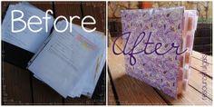 The Resourceful Gals: DIY Recipe Binder Makeover - FREE PRINTABLE!