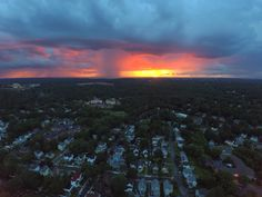 Scattered Showers at Sunset in Melrose MA [OC] [4000x3000]