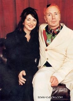 KATE BUSH & JOHN LYDON (lovely people)