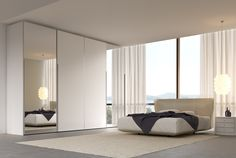 We design and fit superbly engineered and beautiful space-saving fitted wardrobes to suit rooms of any size and shape. InHouse Craft's collection features fitted sliding doors design spanning a variety of dimensions. Moreover, the option of building one with custom measurements is always available courtesy our brilliant team of innovative designers, talented craftsmen, and skillful installers. Fitted Sliding Wardrobes, Sliding Wardrobe Doors, Sliding Doors, Sliding Door Design, Sliding Door Systems, Room Design Bedroom, Home Bedroom, Bedrooms, Bedroom Ideas