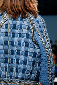 Balmain Spring 2014 RTW - Details - Fashion Week - Runway, Fashion Shows and Collections - Vogue Jeans Denim, Ripped Denim, Womens Fashion Online, Latest Fashion For Women, Fashion Week, Fashion Show, Review Fashion, Runway Fashion, Balmain