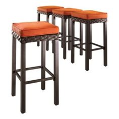 Woven Patio Bar Stools