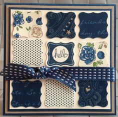 Petite Cards with Sale-a-Bration's Pretty Petites | Stampin Up Demonstrator Blog- Stamping Art Studio
