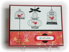 Get Well Wishes by Cards4Ever - Cards and Paper Crafts at Splitcoaststampers