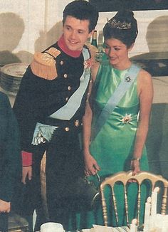 Princess Alexandra wore this tiara for the dinner during the Lithuanian State Visit in October 1996.