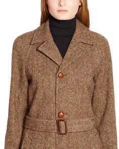 Wool Herringbone Coat - Outerwear  Jackets & Outerwear - RalphLauren.com