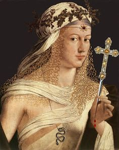 April 18: Birthday of Lucrezia Borgia, Florentine ruler and political wife (featured); Na Hye-sok (나혜석), feminist writer and painter; Kathy Acker, writer; Melissa Joan Hart, actress; and Cheryl Haworth, weightlifter and artist.