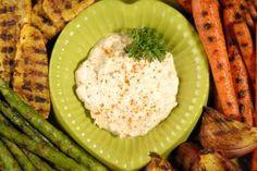 Party Food (veggie dip): Moroccan Lemon Yogurt Dip Recipe | Savory Spice Shop