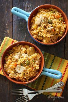 Mom's Spanish Chicken and Rice Recipe