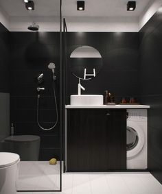 vosgesparis: A small and dark apartment in Russia - great spot for the washing machine