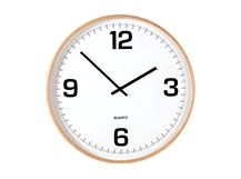 Adrie Wall Clock, Plywood