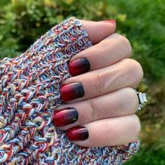 Gothic Images, Nail Pictures, Red Ombre, Nail Polish Strips, Color Street Nails, Simple Nails, Nails Inspiration, Nail Art Designs, Manicure