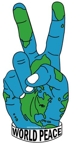HOPES for PEACE!! We are here on this Earth for our lifetime, lets try PEACE and show our future how its done!