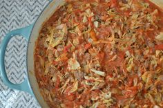 Beef and Cabbage Skillet Dinner (Paleo)