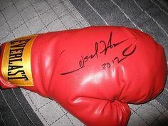 Oscar De La Hoya Signed Autograph Boxing Glove « Impulse Clothes