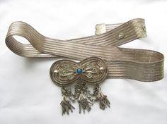 Filigree Ottoman Turkish Silver Belt. Any Additional Information ? - ethnic jewels
