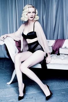 Kirsten Dunst looking pin-up worthy