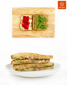 We're loving this recipe for a PBrie and J sandwich. Yum!