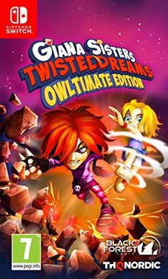 Shop Giana Sisters: Twisted Dreams Owltimate Edition Nintendo Switch at Best Buy. Find low everyday prices and buy online for delivery or in-store pick-up. Giana Sisters, Playstation, Xbox, Mario Kart, Pokemon Go, Puzzles, Forest Games, Stuff To Do, Cool Things To Buy