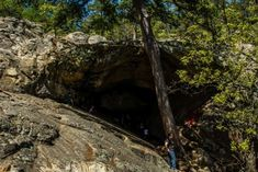Hiking To This Aboveground Cave In Oklahoma Will Give You A Surreal Experience