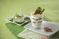 Cheesecake de iogurte e lima
